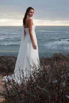 "Brautkleid Montenegro aus der Marylise Brautmoden Kollektion 2015 :: bridal dress from the 2015 Marylise collection ""Les nouvelles femmes"" by Misolas"