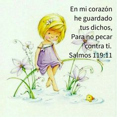 Salmos 119:11 En mi corazón he guardado tus dichos, Para no pecar contra ti.♔