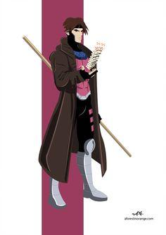 Gambit (Marvel) by FeydRautha81