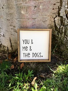 You Me & The Dogs,Rustic Home Decor,Farmhouse Decor,Rustic Sign,Farmhouse Si. Diy Home Decor Rustic, Rustic Farmhouse Decor, Farmhouse Signs, Cheap Home Decor, Dog Home Decor, Rustic Room, Farmhouse Ideas, Home Decor Accessories, Decorative Accessories