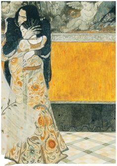 Art by Svetlin Vassilev - Romeo and Juliet Illustrations, Illustration Art, Botanical Illustration, Kunst Online, Art Graphique, Pretty Art, Graphic, Art History, Art Inspo