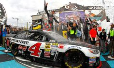 Kevin Harvick's first win with Stewart-Hass. Phoenix 2014