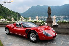 Alfa Romeo 33 Stradale: A road going version of Alfa/Autodelta's GT racer for the late 60s.