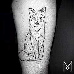 Unique Linear Tattoos Design by Mo Ganji