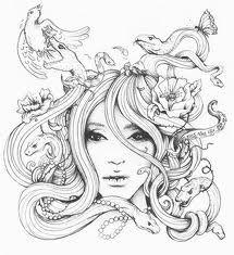 Medusa Medusa Drawing, Medusa Art, Medusa Gorgon, Medusa Tattoo Design, Tattoo Designs, Tattoo Sketches, Tattoo Drawings, Latest Tattoos, Creature Drawings
