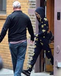 Cara Delevingne leaving Taylor's apartment in NYC today