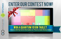 Win a brandnew tablet