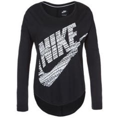 Nike long sleeve tee New with tags color black long sleeve tee Nike Tops Tees - Long Sleeve