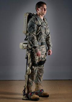 Lockheed Martin's ruggedized HULC robotic exoskeleton