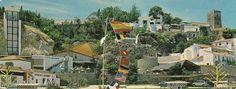 """1964 - El Torremolinos de los años 50,60 y 70.9 Agosto 1964  Se inaugura el """"Papagayo Club"""", en el Bajondillo, al aire libre, con un gran velamen que lo cubre como característica principal, en el lugar que antes ocupaba """"Casa Marcelo"""", junto a la playa. El cantaor Manolo Caracol y el famoso matador de toros Curro Romero, acuden hasta bien entrada la noche."""