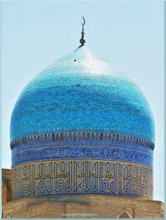 imposante  Moscheen-Kuppel in Buchara von Erich Wucher