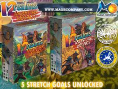 Kickstarter – 12 Realms: Ancestor Legacy | Blog Egdgames.com