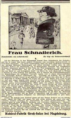 Original-Werbung/ Anzeige 1924 - KUKIROL - GROSS-SALZE BEI MAGDEBURG - Ca. 100 X 170 Mm - Werbung