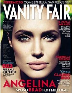 Angelina Jolie - Vanity Fair Magazine Cover [Italy] (6 June 2012)