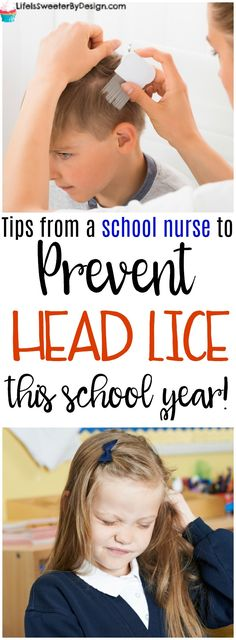 Keeping your kids from getting head lice is something every parent wants to do. These tips for preventing head lice are from a school nurse! Head lice prevention is key to a good school year!
