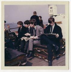 The Beatles, John Lennon, Paul McCartney, George Harrison, Ringo Starr John Lennon, Great Bands, Cool Bands, Richard Starkey, Beatles Photos, Colouring Pics, The Fab Four, Ringo Starr, George Harrison