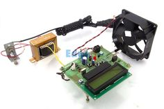 BLDC Motor Speed Control with RPM Display - The main objective of this project is controlling speed of BLDC motor and displays its speed using an IR method of speed sensor mechanism.