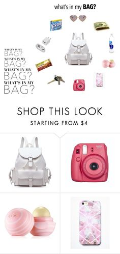 """What's In My Bag? Contest Entry"" by chandlercj ❤ liked on Polyvore featuring Eos, Free People, Avon, Wildfox and inmybag"