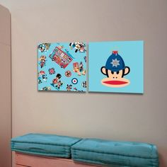 """Looking For A Unique Wallpaper For Your Nursery Or Kids' Rooms? Paul Frank Wallpaper Decals Are Your Solution! These Adorable Hearts Pattern Wallpaper Decals Are Sure To Open Your Kids_""""? Imagination And To Create A Relaxing Environment During PlaytimeWall decals (also known as a wall stickers) are a high quality vinyl film stickers that are designed and cut to stick to walls or other smooth surfaces for decoration.$59.99"""