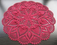 Doily # 19 from Nihon Vogue Pineapple Lace
