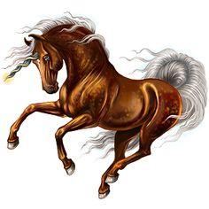 Unicorn Marwari Liver chestnut Unicorn Drawing, Unicorn Art, Creature Drawings, Horse Drawings, Pegasus, Fantasy Creatures, Mythical Creatures, Charlie The Unicorn, Horse Animation