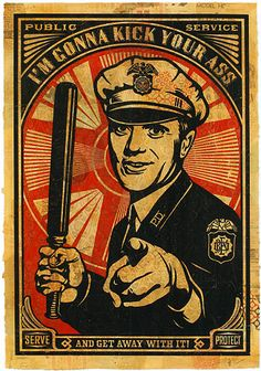 Shepard Fairey - style/feeling research