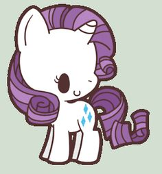 my little ponies chibi - Google Search