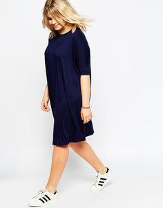 Image 4 ofASOS CURVE The T-Shirt Dress