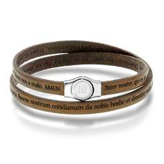 Armbånd i sølv og brunt lær Love Bracelets, Cartier Love Bracelet, Cuff Bracelets, Bangles, Jewelry, Bangle Bracelets, Jewellery Making, Bracelets, Jewerly