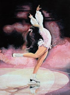 Figure Skater 20 by Hanne Lore Koehler ~ from book The Figure Skater {Olympic Dreams series}
