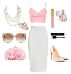 Untitled #1 by lizzz-ng on Polyvore featuring polyvore, fashion, style, Topshop, Roland Mouret, Christian Louboutin, Betsey Johnson, Chanel, Tom Ford and Isaac Mizrahi