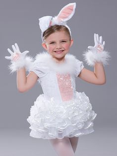 Revolution - Costumes - Page 1 - Revolution Dancewear - US Girls Bunny Costume, Easter Bunny Costume, Kids Costumes Girls, Girl Costumes, Gay Costume, Referee Costume, Ballet Costumes, Dance Costumes, Energizer Bunny Costumes