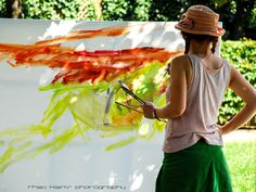 the painter and his work of art | www.theo-klems.de