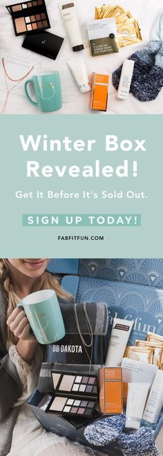 Use code EXTRA to get your 1st box, the Editor's Box, for $39.99! The Winter Box just sold out, but the Editor's Box is even better!