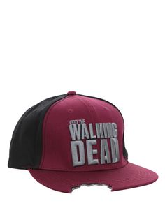 c793ad6e98c The Walking Dead Bitten Snapback Ball Cap | Hot Topic Zombie Clothes, The  Walking Dead