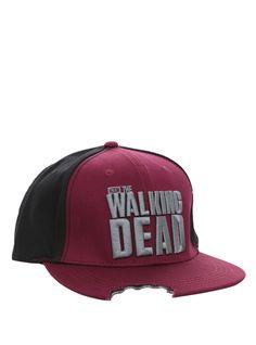 The Walking Dead Bitten Snapback Ball Cap | Hot Topic