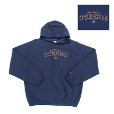 Keep warm at the game while rooting for your favorite team in this Goalie Hooded Sweatshirts, Hoodies, Nittany Lion, Michigan Wolverines, Detroit Tigers, Keep Warm, Hooded Jacket, Navy Blue, Sports