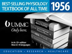 The all-time best-selling physiology textbook was written by Dr. Arthur C. Guyton and first published in 1956. Wall wrap (Oct. 2013). http://ummchealth.com/