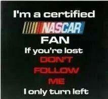 Certified Nascar Fan