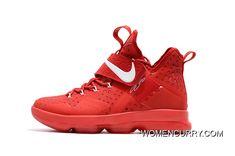 "ad06eea39ca0 ""Big Apple"" Nike LeBron 14 University Red"