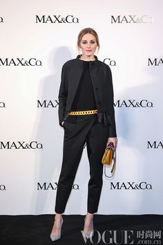 Olivia Palermo in Chengdu, China - March 28, 2015