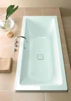 relaxeren in een inbouwbad - heerlijk!