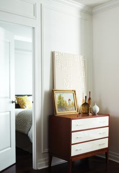 Eclectic Hallway With Dresser   photo Angus Fergusson   design Joel Bray   House & Home
