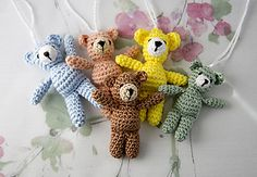 Make It: Tiny Teddy - Free Crochet Pattern #crochet #amigurumi #ravelry #free