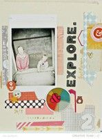 Explore by {Jen Jockisch} from our Scrapbooking Gallery originally submitted 04/15/13 at 10:11 AM