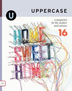We're pleased to announce that Uppercase Magazine is now in stock at the Shop!