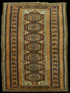 Antique Tribal Baluch Rug