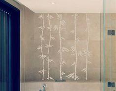 Ebre Vinil Vinilo Decoración Oriental Tallos de Bambú 03017