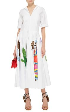 Giudice Painted Dress by STELLA JEAN Now Available on Moda Operandi