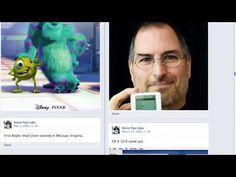 Steve Jobs's TimeLine on Facebook (concept) Facebook Timeline, For Facebook, Steve Jobs, All About Steve, Facebook Brand, Videos, Cases, Concept, Marketing